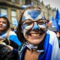 Šoti iseseisvust tuli Edinburghi tänavatele nõudma üle 200 000 inimese