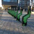 В Тарту появились первые парковки, где можно зарядить электровелосипед или электросамокат