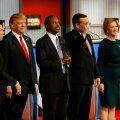 USA vabariiklaste presidendikandidaatide väitluses räägiti immigratsioonist ja kulutustest