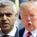 """Trump nimetas Suurbritannia-visiidi alustuseks Londoni linnapead """"kivikülmaks luuseriks"""""""