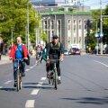 Таллиннцы хотят отдать летом проезжую часть в центре Таллинна велосипедистам. Петиция собрала 5000 подписей