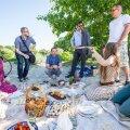 Piknik Taavi Aasaga Russalka juures