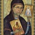 Фото икон, использованные для коллажа, не принадлежат коллекции Корнилова.