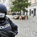Viini kesklinnas valvab politsei paiku, kus toimus eile õhtul terrorirünnak.