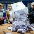 Valimistulemusi loeti eile terve päev.