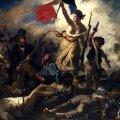 Vabadus viib rahva barrikaadidele. Eugène Delacroix maal aastast 1830.