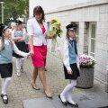DELFI FOTOD: Koolijütsid seadsid taas sammud kooli poole