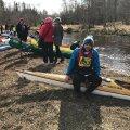 Minister Ossinovski osales 100-kilomeetrisel Võhandu maratonil: iga tõmbega vaevab aina enam küsimus, kas aerutada lõpuni või minna Ivari Padari sauna