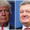 Trump vestleb täna telefonitsi Ukraina riigipea Porošenkoga