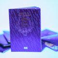 Vastne Eesti pass UV-valguses.