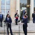 Ратас на встрече с Макроном: отношения Эстонии и Франции близки как никогда