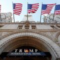 Washingtoni Trumpi hotelli sissepääs