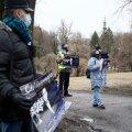 ФОТО | Сторонники задержанного за антигосударственную деятельность Середенко собрались на пикет