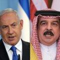 Benjamin Netanhayu Iisraelist ja Hamad bin Isa Al Khalifa Bahreinist