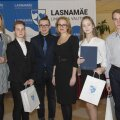 ФОТО: В Ласнамяэ наградили отличившихся школьников