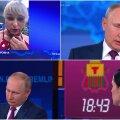 Vladimir Putin vastamas Venemaa elanike küsimustele.
