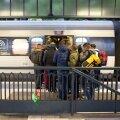 Taani raudteefirma avas taas rongiühenduse Saksamaaga, kust põgenikud läbi Taani Rootsi saavad sõita.