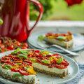 Kuidas vinnutada tomateid ja üks võileivatort, kus neid kasutada