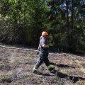 Viljandimaaal põleb mets