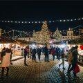 Tallinna jõuluturu avamine