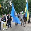 ФОТО: В парке Хирве вспомнили состоявшийся 30 лет назад легендарный митинг