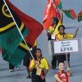 Vanuatu sportlane olümpia avatseremoonial