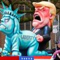 VIDEO ja FOTOD: Saksa karnevalide peamised pilkealused olid Donald Trump ja teised poliitikud