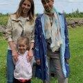 Elke Lillemets ja president Kersti Kaljulaid juuni algul, kui president Marjamaa talu külastas.