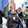 FOTOD: Viljandis said linlased aastapäeva puhul kringilt ja sõdurisuppi