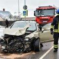 Viljandis põrkas kiirabiauto kokku sõiduautoga.