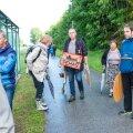 Üleeile protestiti tselluloositehase vastu Tabiveres.