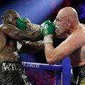 Deontay Wilder vs Tyson Fury.