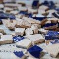 СВОИМИ РУКАМИ | Что можно сделать из плитки, которая осталась после строительства