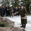 ФОТО | Бывшего командующего Силами обороны генерал-лейтенанта Керта проводили в последний путь
