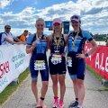 Vasakult: Relika Toome, Hanne Grete Hanvere ja Liisi Alamaa