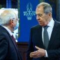 Euroopa Liidu välispoliitikajuht Josep Borrell ja Vene välisminister Sergei Lavrov möödunud reedel Moskvas.