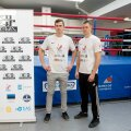 Vennad Rain ja Ainar Karlson - Estonian Boxing Night pressitreening
