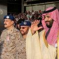 Saudi kroonprints Mohammed bin Salman.