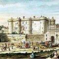 Bastille'i kindlus aastal 1715. Kunstnik: Rigaud