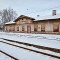 Võru raudteejaama mahajäetud hoone