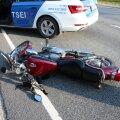 Jõgevamaal juhtus Treffi ajal mitu liiklusõnnetust mootorratturitega