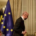 Belgia ametist lahkunud peaminister Charles Michel.