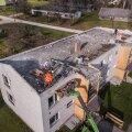 Maja kaotas katuse ning elanikud peavarju.
