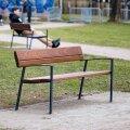 В парках Кесклинна обновляют дорожки и уличную мебель