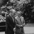 LEGENDAARNE NIIDITÕMBAJA: Henry Kissinger nõuaandeid on vajanud paljud maailma liidrid. Pildil koos USA 38. presiendi Gerald FOrdiga.