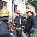 VIDEO JA FOTOD: Riia kesklinnas süttinud Läti presidendiloss sai rängalt kahjustada