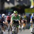 Mark Cavendish (rohelises).
