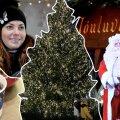 VIDEO | Ülevaade Tallinna jõuluturult: Birgit Sarrap müüb kodumaist muusikat ning lapsi tervitab hologramm-jõuluvana