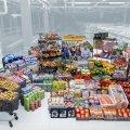 ИНТЕРАКТИВНОЕ ФОТО И ГРАФИК | Простая эстонская семья за год съедает четыре тонны еды. Смотрите, как это выглядит на одном снимке!