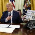 Trump tahaks sotsiaalmeediaplatvormid kaitsest vastutuse eest ilma jätta